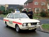 Ford Cortina 2-door Saloon Police (MkII) 1966–70 photos