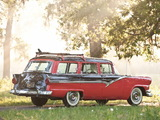 Photos of Ford Country Sedan 8-passenger Station Wagon 1956