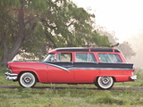 Ford Country Sedan 8-passenger Station Wagon 1956 wallpapers