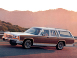 Ford LTD Country Squire Station Wagon 1987–91 images