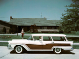 Ford Country Squire 1957 wallpapers