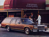 Ford LTD Country Squire Station Wagon 1982 wallpapers
