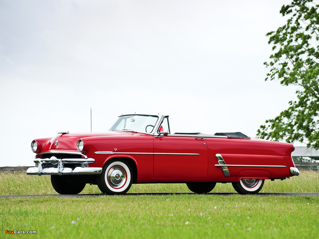 Ford Crestline Sunliner Convertible Coupe (76B) 1953 images (1024 x 768)