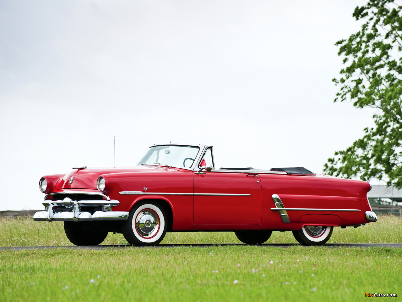 Ford Crestline Sunliner Convertible Coupe (76B) 1953 images (1280 x 960)