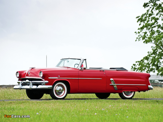 Ford Crestline Sunliner Convertible Coupe (76B) 1953 images (640 x 480)