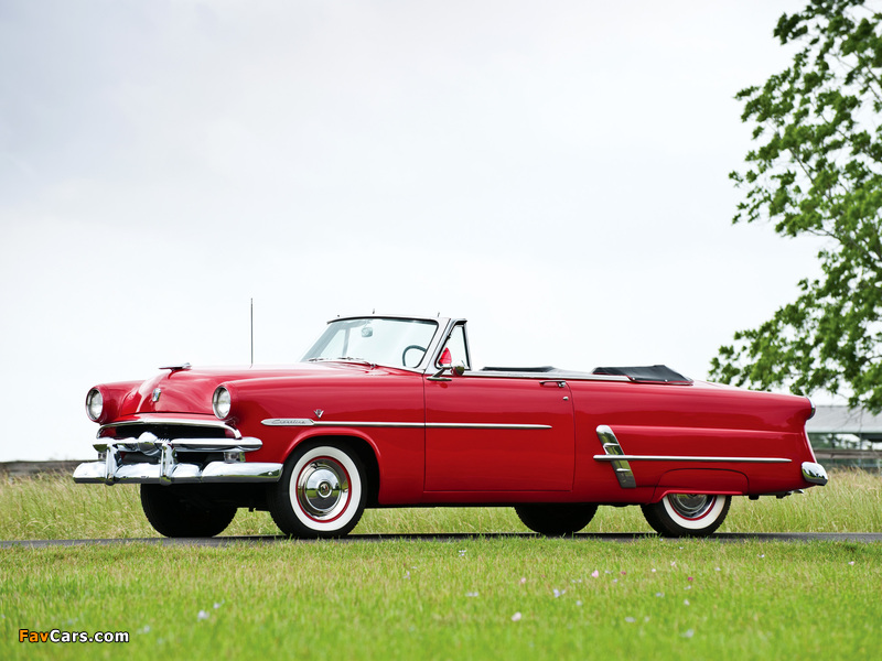 Ford Crestline Sunliner Convertible Coupe (76B) 1953 images (800 x 600)