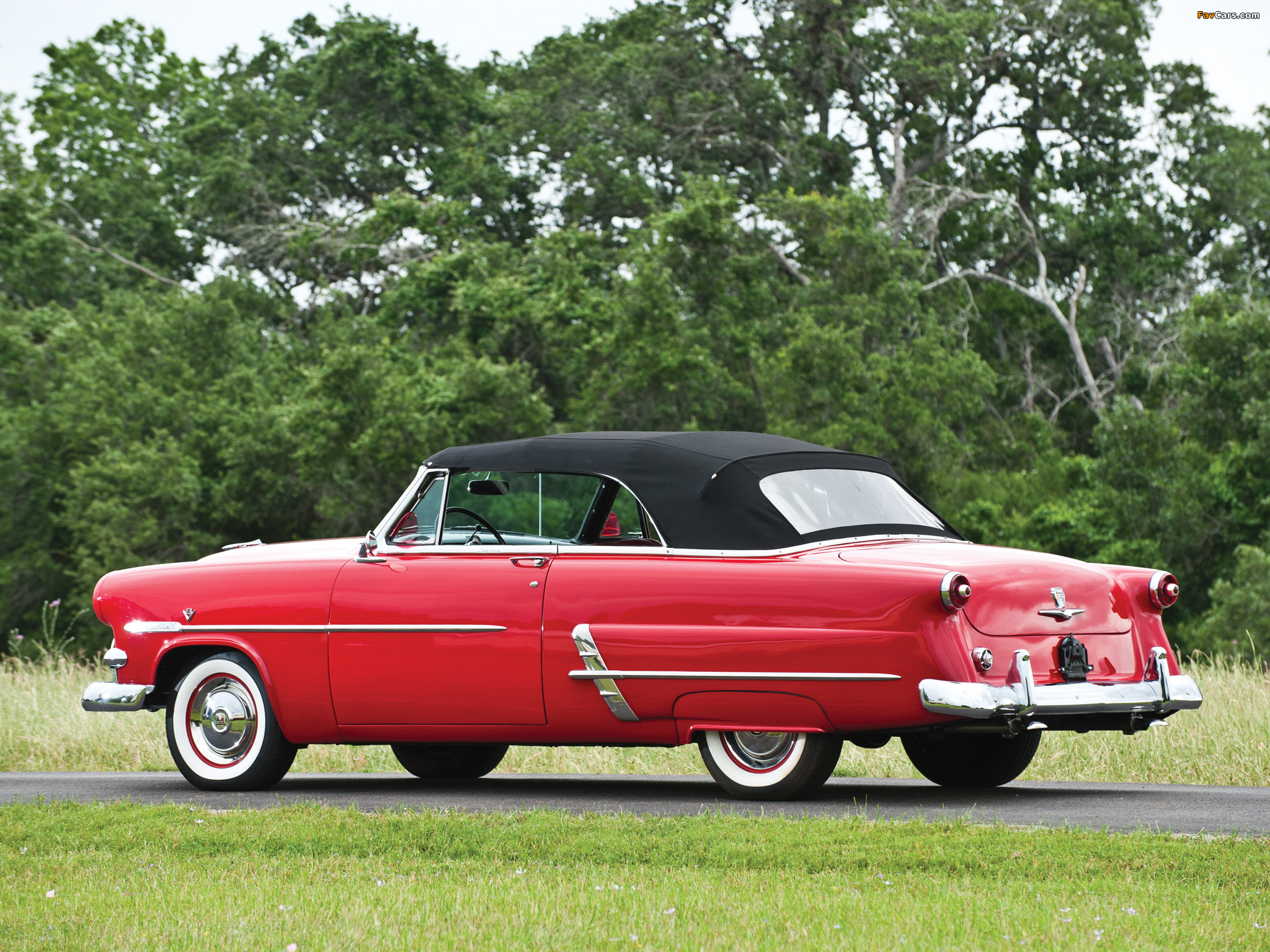 Ford Crestline Sunliner Convertible Coupe (76B) 1953 images (2048 x 1536)