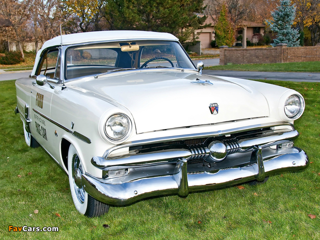 Ford Crestline Convertible Indy 500 Pace Car (76B) 1953 pictures (640 x 480)