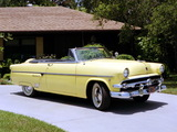 Ford Crestline Sunliner Convertible Coupe 1954 pictures