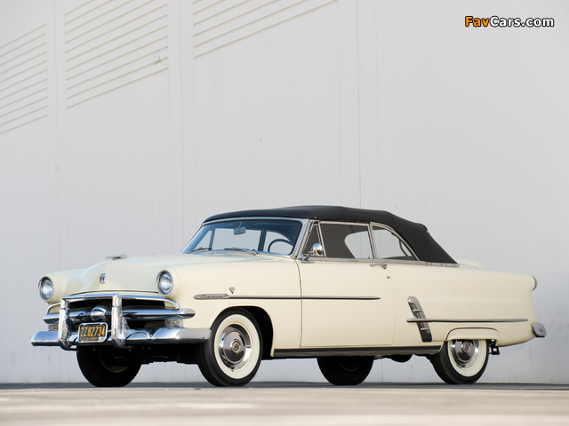 Pictures of Ford Crestline Sunliner Convertible Coupe (76B) 1953 (640 x 480)
