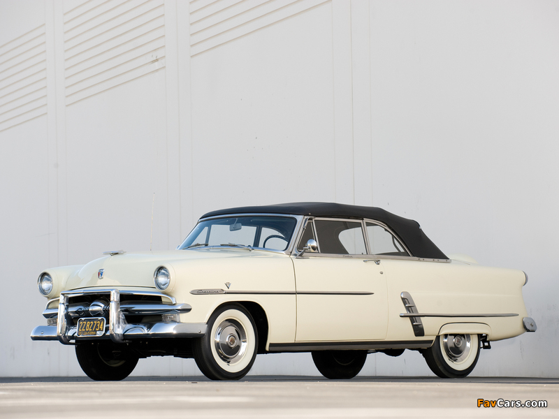 Pictures of Ford Crestline Sunliner Convertible Coupe (76B) 1953 (800 x 600)