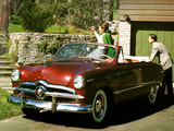 Ford Custom Convertible Coupe (76) 1949 photos