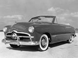 Photos of Ford Custom Convertible Coupe (76) 1949