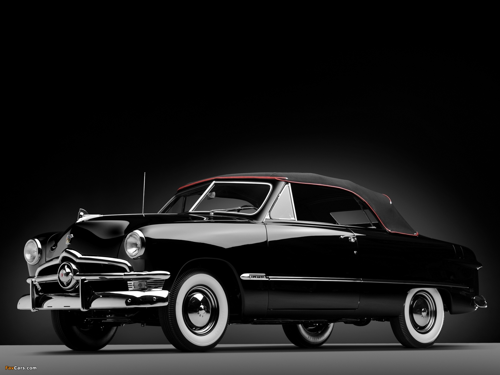 Ford Custom Deluxe Convertible Coupe 1950 Wallpapers 1600x1200
