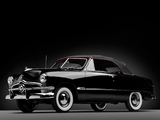 Ford Custom Deluxe Convertible Coupe 1950 wallpapers