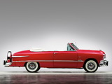 Ford Custom Deluxe Convertible 1951 wallpapers
