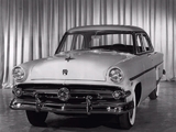 Ford Customline Fordor Sedan (73B) 1954 wallpapers