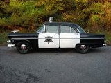 Photos of Ford Customline Police 1955