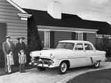 Ford Customline Fordor Sedan (73B) 1952 wallpapers