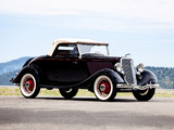 Ford V8 Deluxe Roadster (40-710) 1934 images