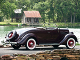 Ford V8 Deluxe Roadster (48-710) 1935 images
