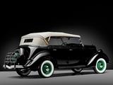 Ford V8 Deluxe Phaeton (48-750) 1935 photos