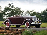 Ford V8 Deluxe Roadster (48-710) 1935 photos