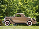 Ford V8 Deluxe 3-window Coupe (48-720) 1935 wallpapers
