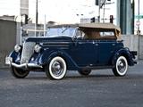 Ford V8 Deluxe Phaeton (68-750) 1936 images
