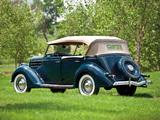 Ford V8 Deluxe Phaeton (68-750) 1936 pictures