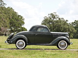 Ford V8 Deluxe 3-window Coupe (68-720) 1936 wallpapers