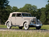 Ford V8 Deluxe Convertible Sedan (68-740) 1936 wallpapers