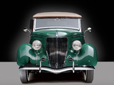 Ford V8 Deluxe Roadster (68-760) 1936 wallpapers