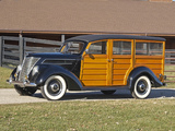 Ford V8 Deluxe Station Wagon 1937 photos