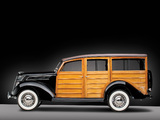 Ford V8 Deluxe Station Wagon 1937 pictures