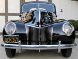Ford V8 Deluxe Tudor Sedan (91A-70B) 1939 photos