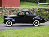 Ford V8 Deluxe 5-window Coupe 1939 wallpapers