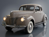 Ford V8 Deluxe 5-window Coupe (01A-77B) 1940 images