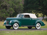 Ford V8 Deluxe Convertible Coupe 1940 images