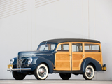 Ford V8 Deluxe Station Wagon (01A-79B) 1940 pictures