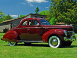 Ford V8 Deluxe 5-window Coupe (01A-77B) 1940 pictures
