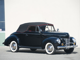 Ford V8 Deluxe Convertible Coupe 1940 pictures