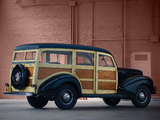 Ford V8 Deluxe Station Wagon (01A-79B) 1940 wallpapers