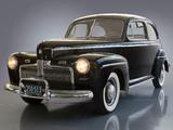 Ford V8 Super Deluxe Tudor Sedan (21A-70B) 1942 images