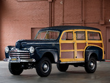 Ford V8 Super Deluxe Station Wagon by Marmon-Herrington (69A-79B) 1946 photos