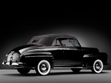 Ford V8 Super Deluxe Convertible Coupe 1946 pictures