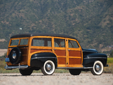 Ford V8 Super Deluxe Station Wagon (89A-79B) 1948 wallpapers