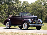 Images of Ford V8 Deluxe Convertible Coupe 1940