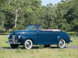 Images of Ford V8 Super Deluxe Convertible Coupe (11A-76) 1941