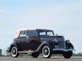 Photos of Ford V8 Deluxe Convertible Sedan (68-740) 1936